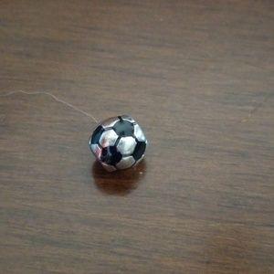 Pandora soccer ball bead